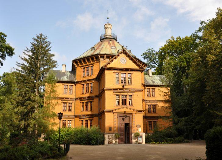 Schloss der Familie Radziwiłł in Antonin