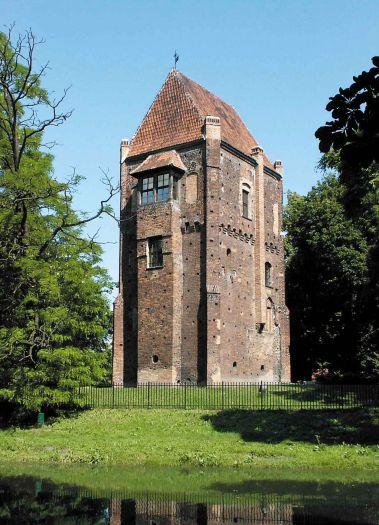 Die Halszka-Bastei in Szamotuły