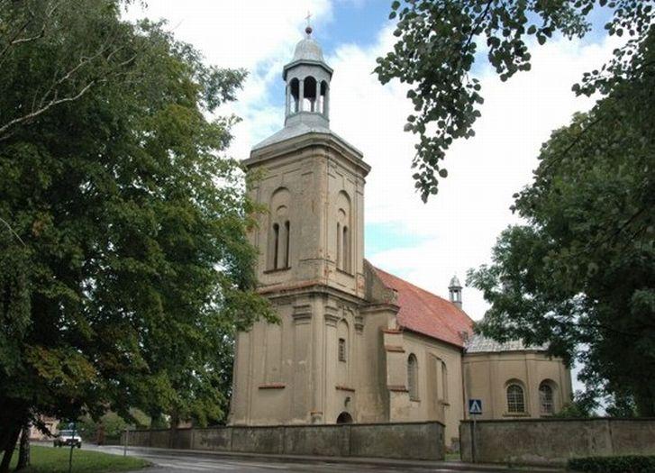 Die Kirche des hl. Stanisław in Borek Wielkopolski