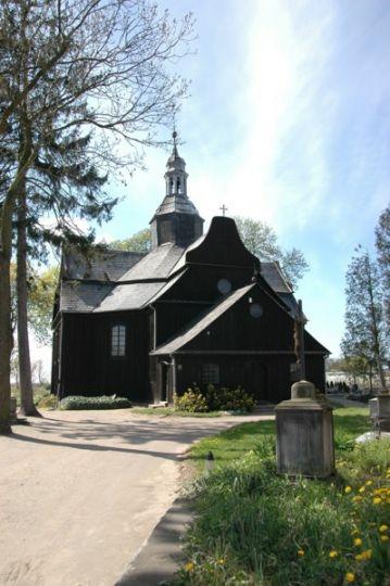 Herb Die Heiligkreuzkirche in Buk