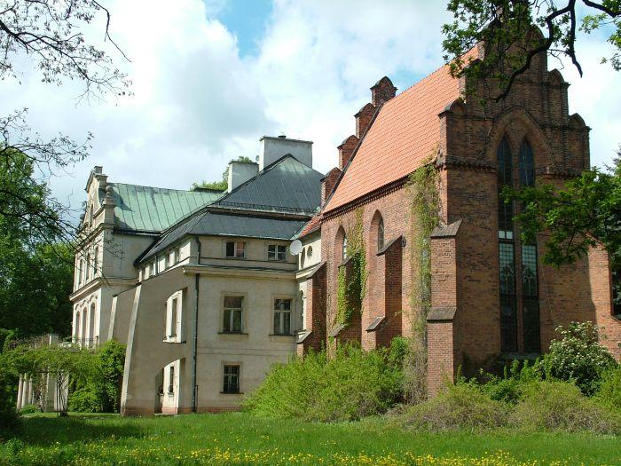 Palais der Familie Chłapowski in Turew