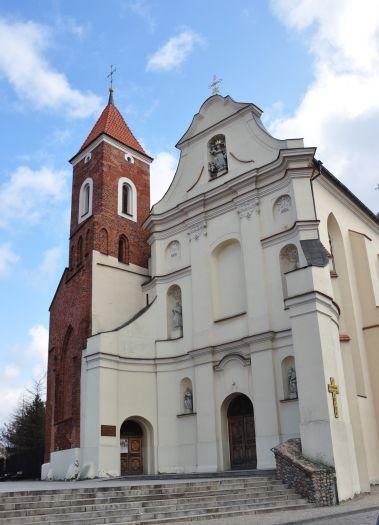 Die Kirche Mariä Himmelfahrt und des hl. Antonius (der Franziskaner) in Gniezno (Gnesen)