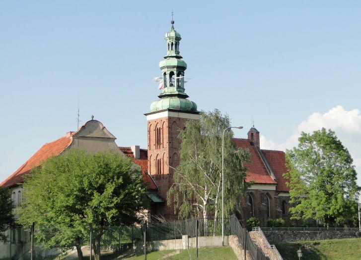 Die Kirche des hl. Johannes des Täufers in Gniezno (Gnesen)