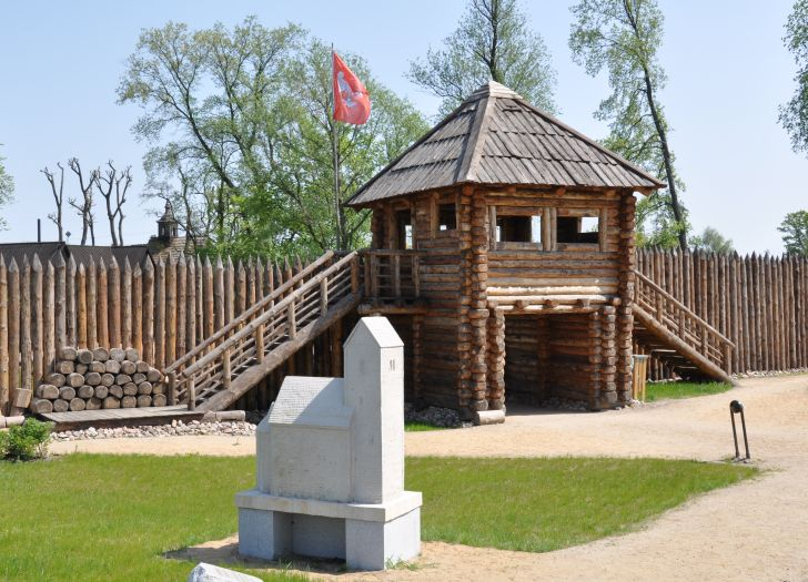 Modell der Stiftskirche in Kalisz