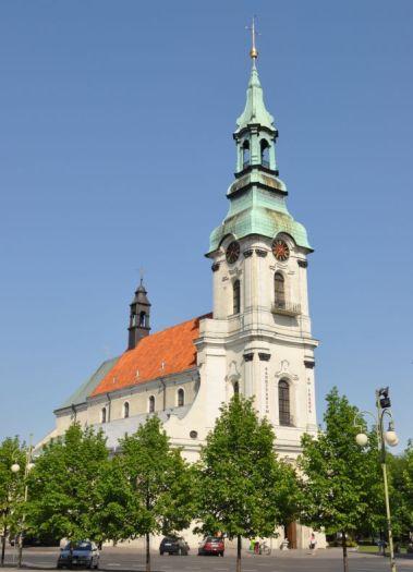 Herb Die Kirche Mariä Himmelfahrt in Kalisz (Kalisch) (Sanktuarium des hl. Joseph)
