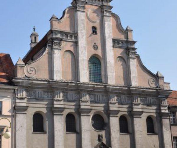 Die Kirche des hl. Stanisław und des hl. Adalbert in Kalisz