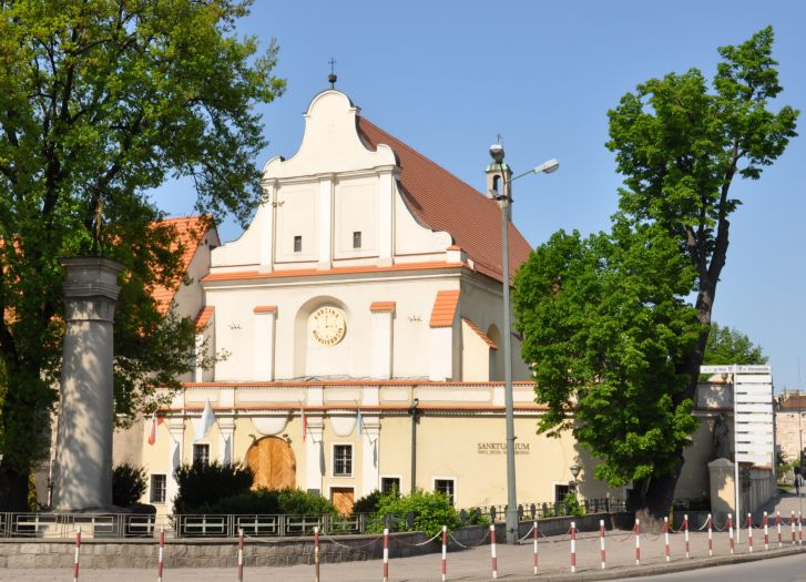 Ehemalige Bernhardinerkirche in Kalisz