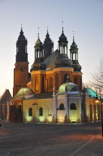 Der Dom in Poznań