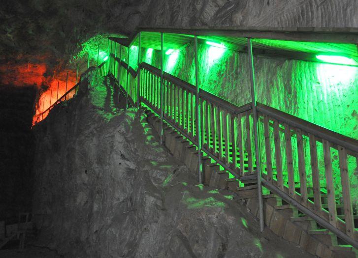 Besucherroute in der Salzgrube Kopalnia Soli Kłodawa S.A.