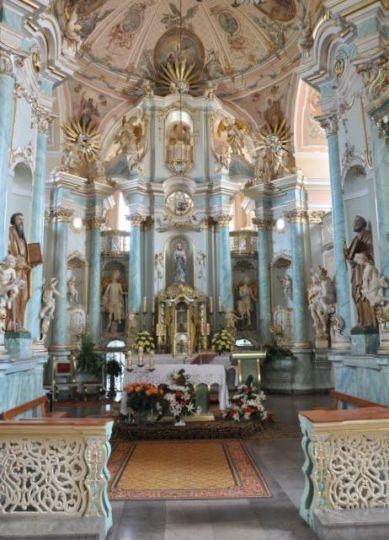 Klosterkirche der Bernhardiner Mariä Heimsuchung in Koło