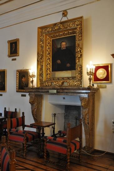 Porträt von Tytus Działyński im Repräsentationszimmer