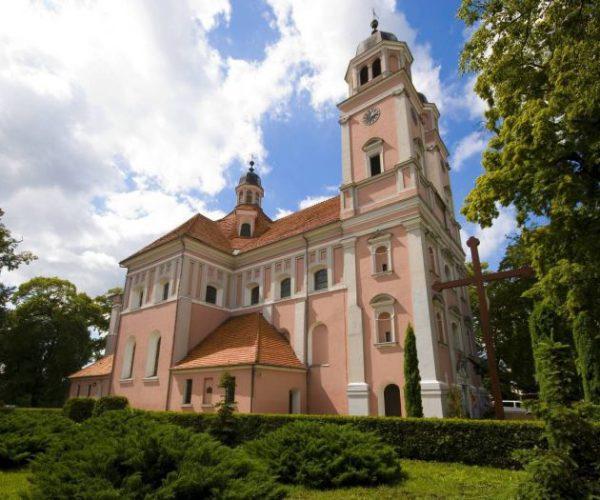 Ehemalige Bernhardinerkirche in Sieraków