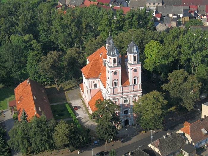Ehemalige Bernhardinerkirche in Sieraków (Zirke)