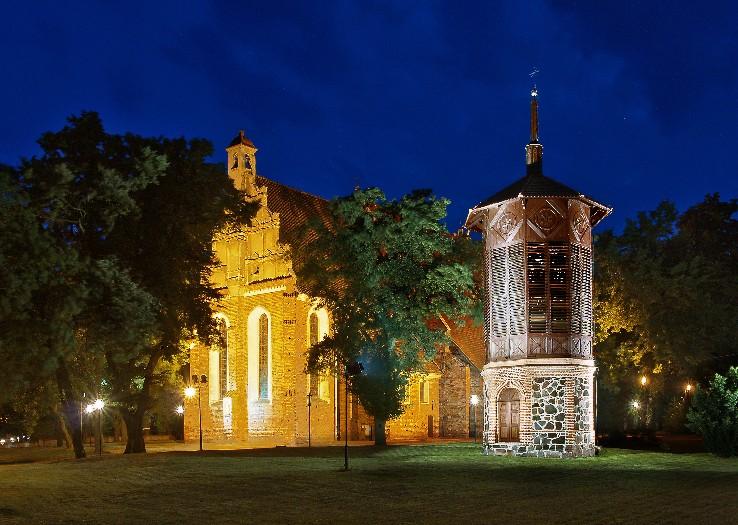 Die Kirche des hl. Jakobus, des Apostels, in Wągrowiec