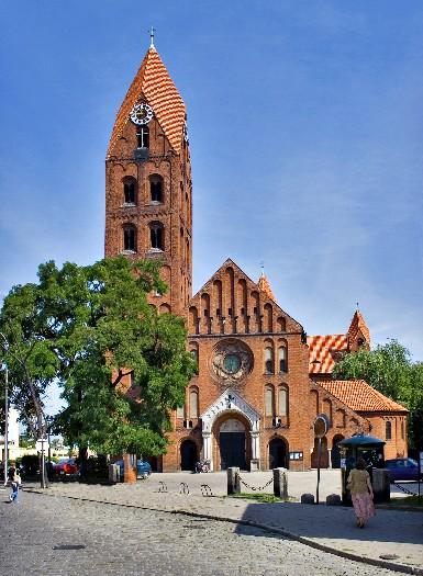 Kirche St. Stanislaus in Ostrów Wlkp.