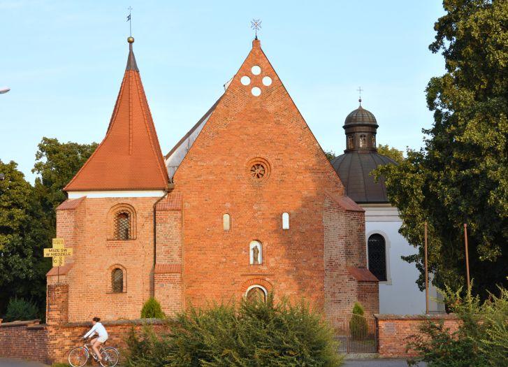 Herb Die Kirche des hl. Johannes von Jerusalem in Poznań (Posen)