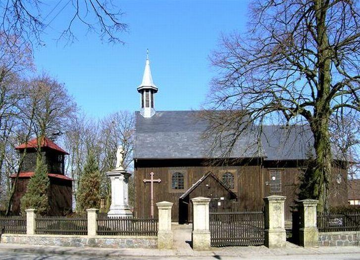 Die Kirche des hl. Nikolaus in Gąsawa