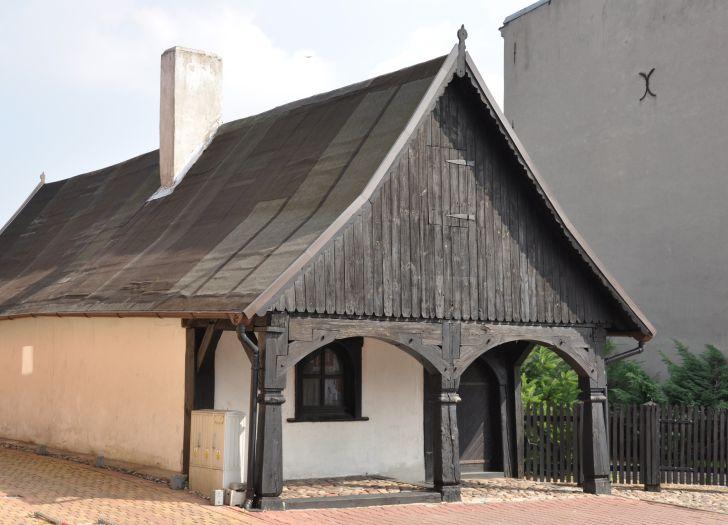 Das Haus mit Laubengang in Krotoszyn