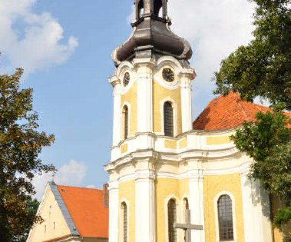 Der Komplex des ehemaligen Trinitarierklosters in Krotoszyn