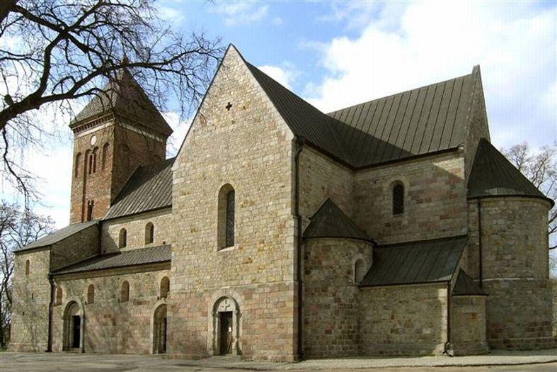 Die Kirche der hl. Peter und Paul in Kruszwica (Kruschwitz)