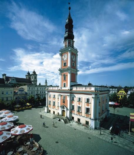 Rathaus in Leszno