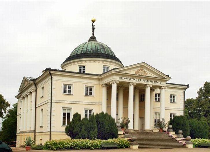 Palais der Familie Skórzewski in Lubostroń