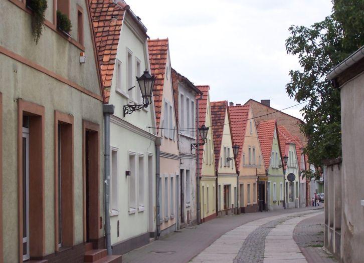 Rynkowa-Straße in Międzychód