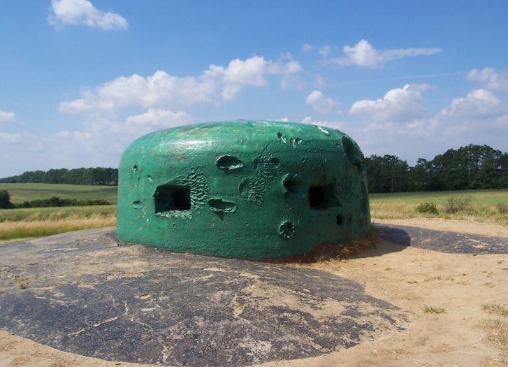 Festungsfront Oder-Warthe-Bogen im Raum Międzyrzecz - Panzerkuppel