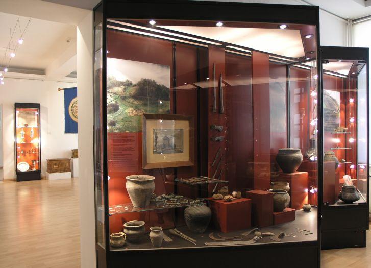 Archäologische Ausstellung in Bezirksmuseum in Piła