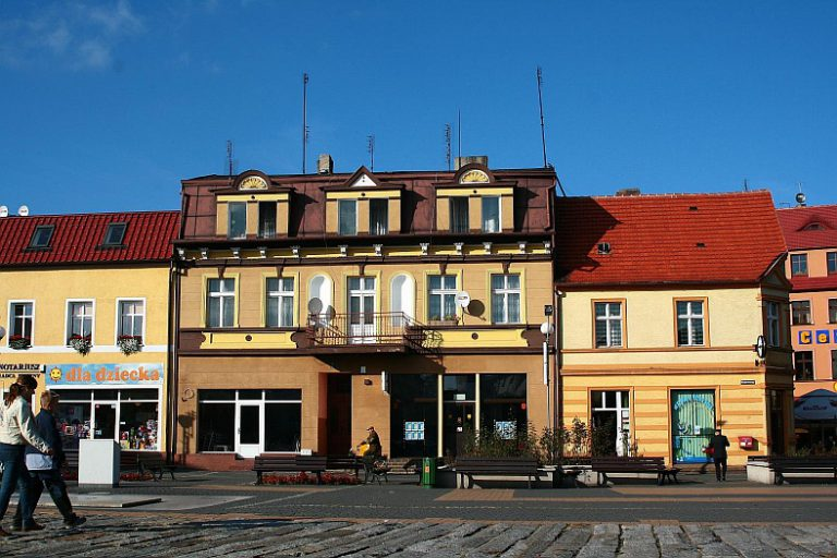 Altstadt in Złotów