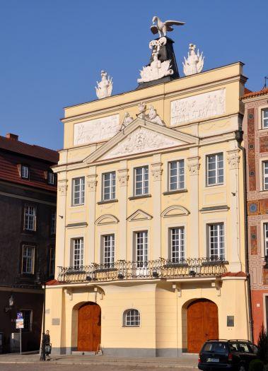 Das Palais der Familie Działyński in Poznań (Posen)