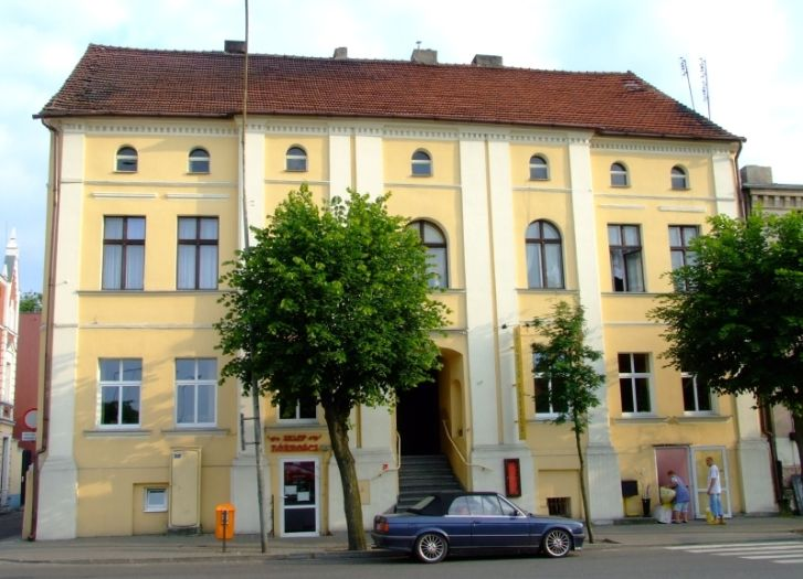 Das Palais des Bischofe in Ciążeń
