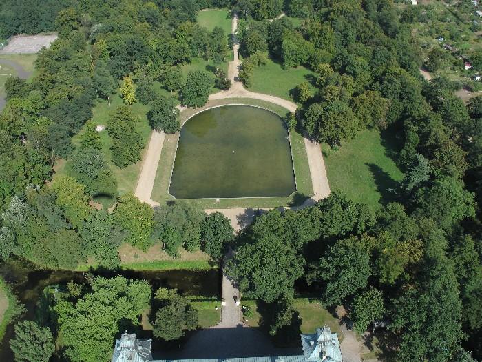 Park zamkowy w Rydzynie