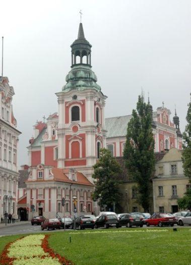 Die Kirche des hl. Bischofs Stanisław in Poznań (Posen)