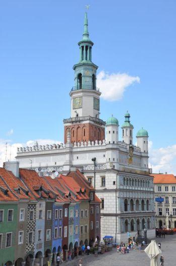 Das Rathaus in Poznań
