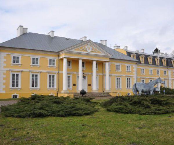 Das Palais in Racot