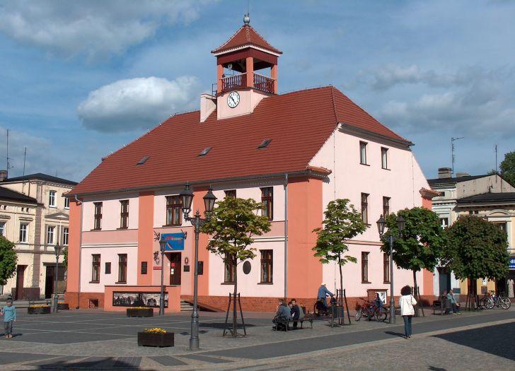 Ratusz w Ostrzeszowie - siedziba Muzeum Regionalnego