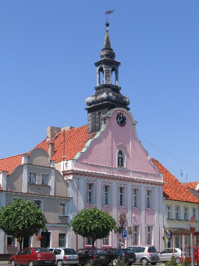 Rathaus in Rydzyna