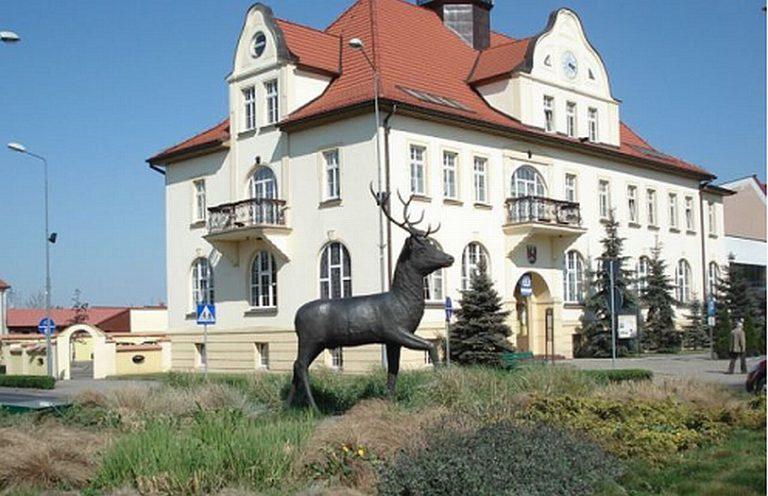 Rathaus in Złotów