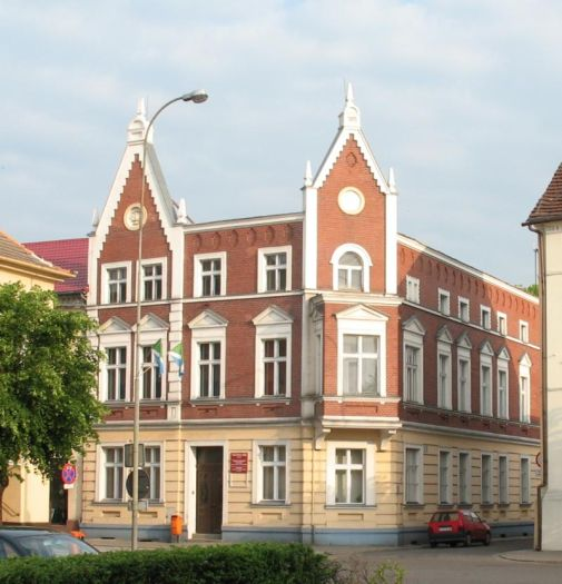 Das Rathaus in Buk