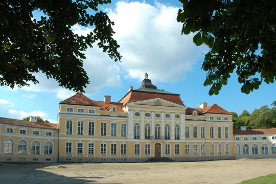 Das Schloss der Familie Raczyński in Rogalin