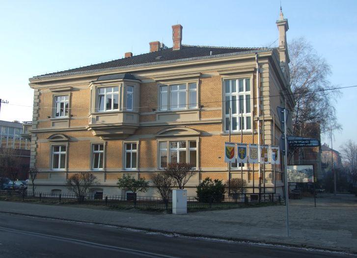 Sitz des Stadtamts in Jarocin