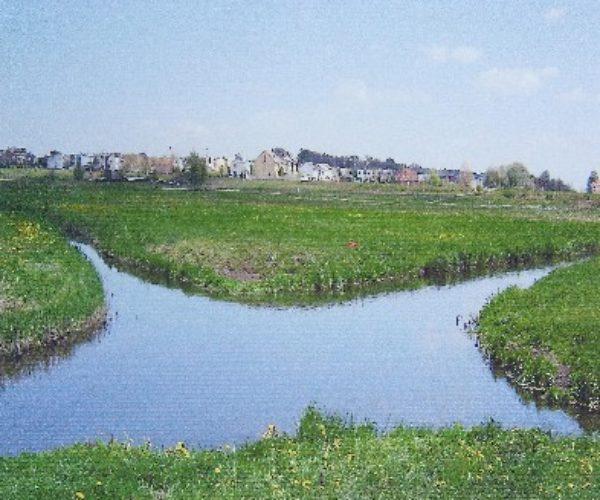 Die Flusskreuzung in Wągrowiec