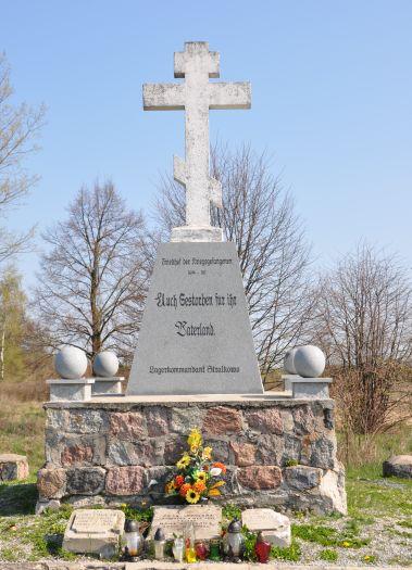Herb Der Friedhof der Kriegsgefangenen in Słupca (Slupca)