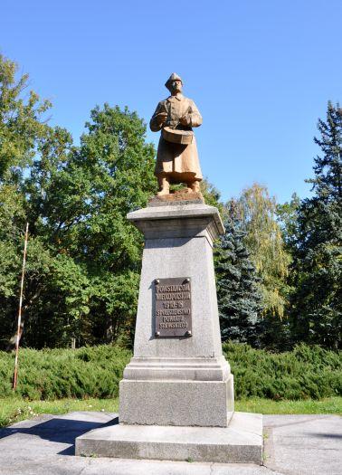 Pomnik Dobosza ku czci powstańców wielkopolskich w Śremie
