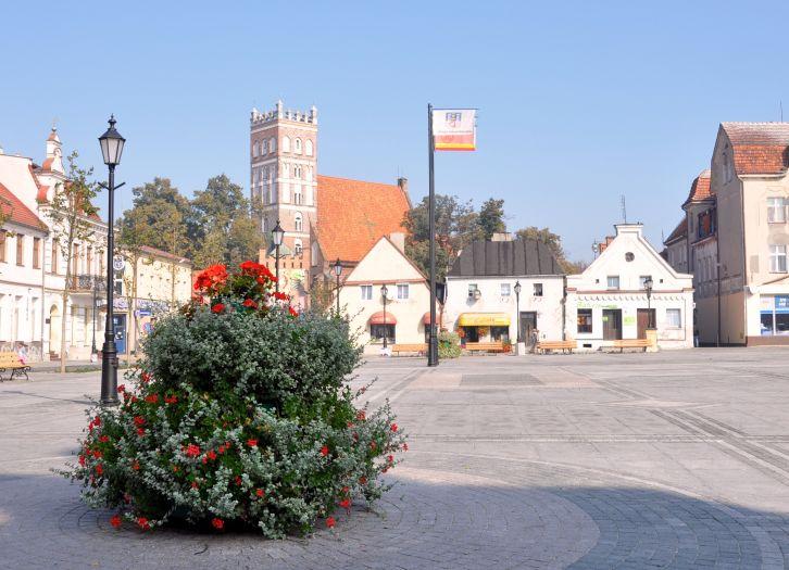 Rynek w Środzie Wielkopolskiej