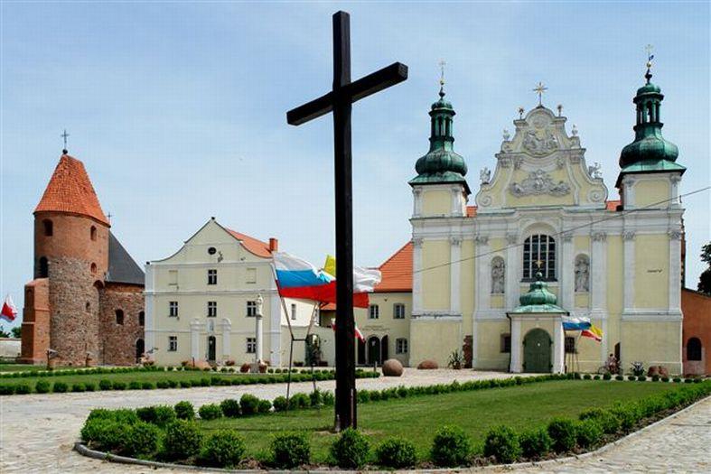Die Kirche der Heiligen Dreifaltigkeit in Strzelno (Strelno)