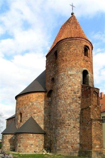 Die Kirche des hl. Prokop in Strzelno (Strelno)