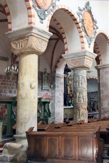 Romanische Säulen in Strzelno