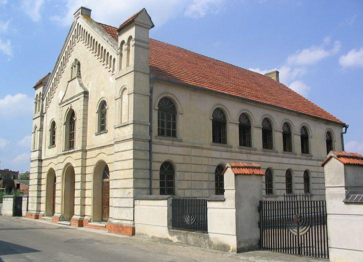 Die Synagoge in Buk